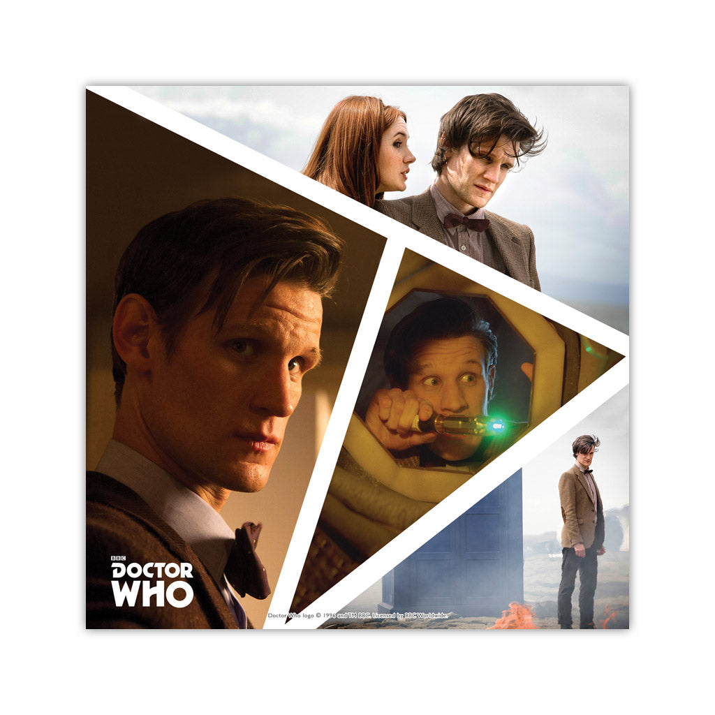 Eleventh Doctor Photographic Square Art Print