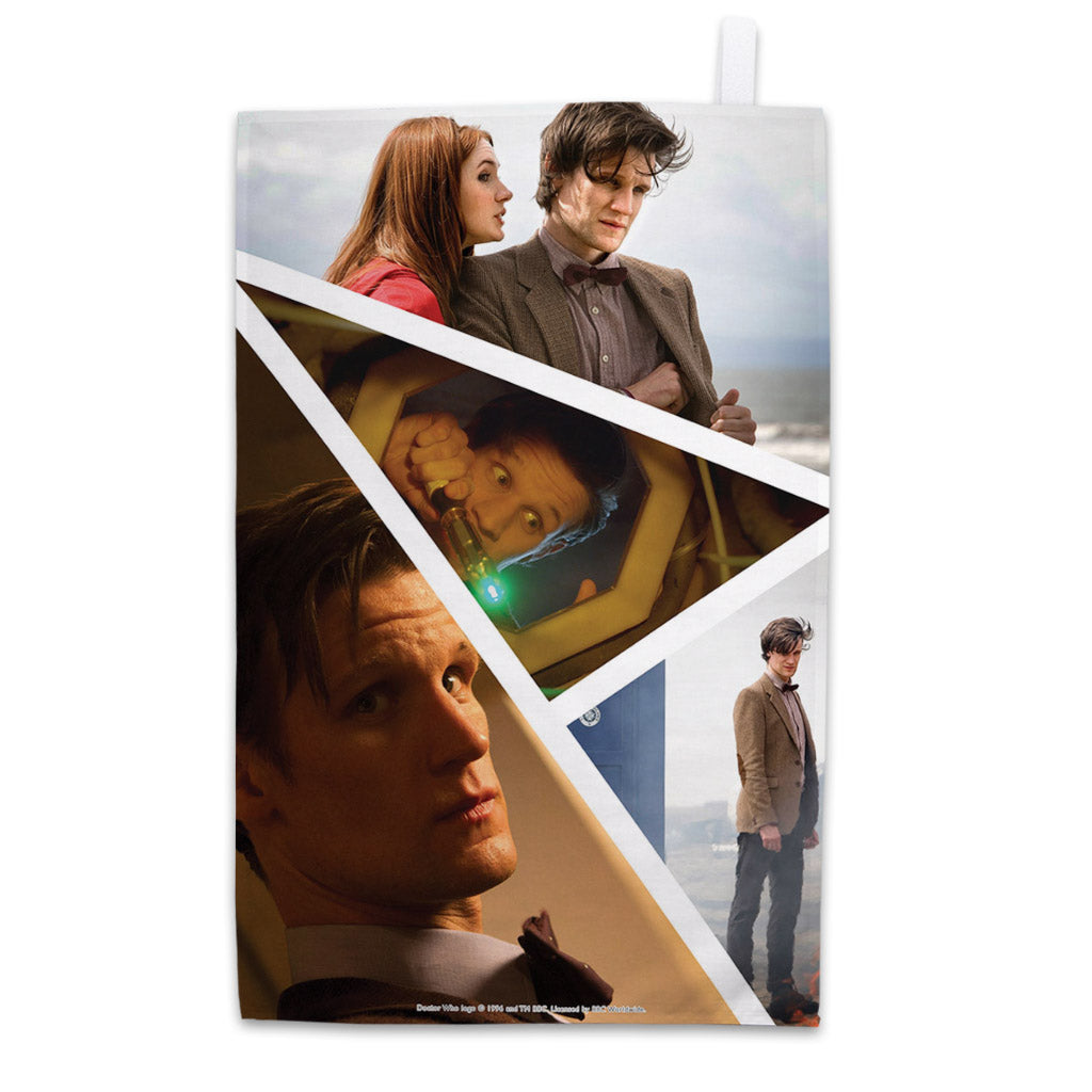 Eleventh Doctor Photographic Tea Towel