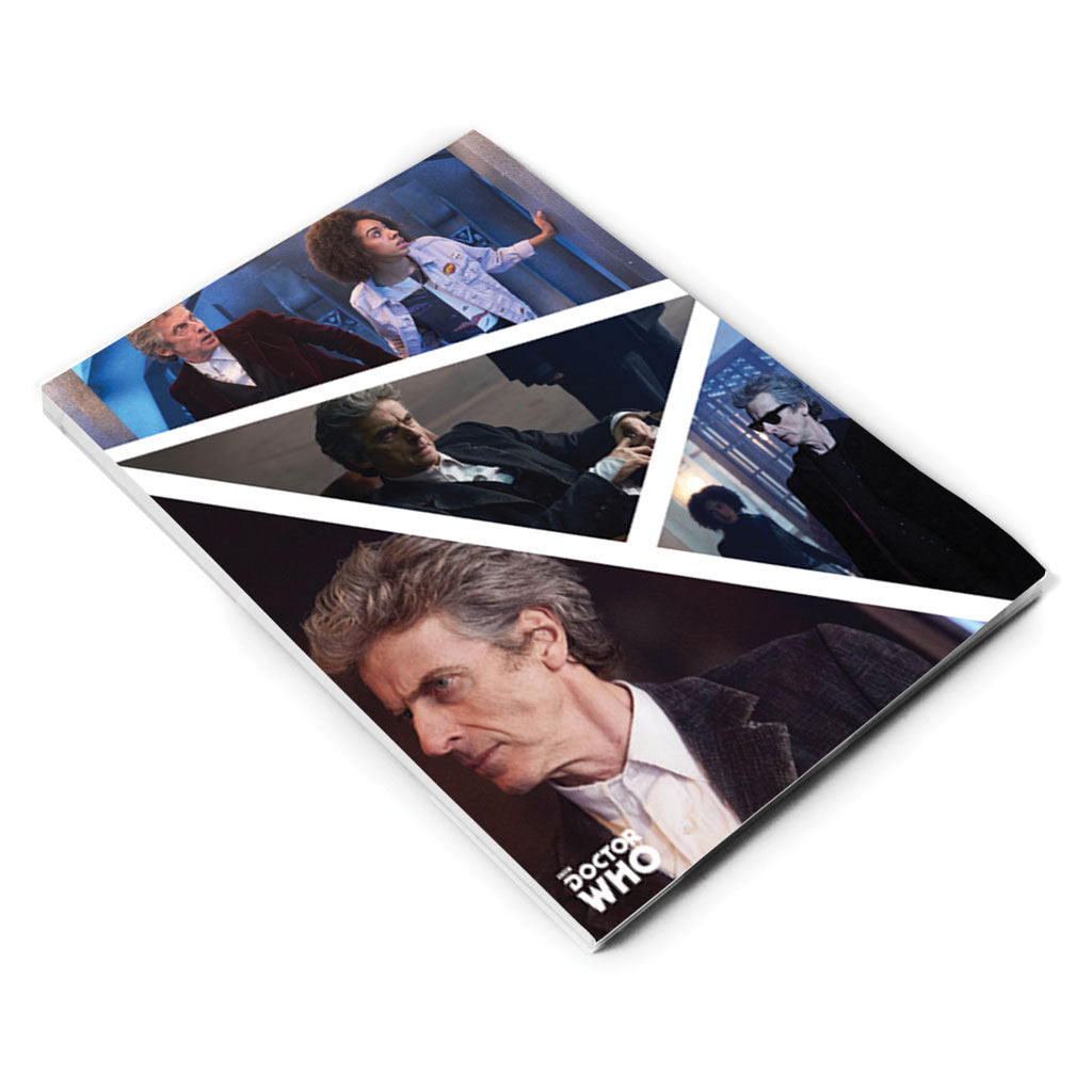Twelfth Doctor Photographic A5 Notepad