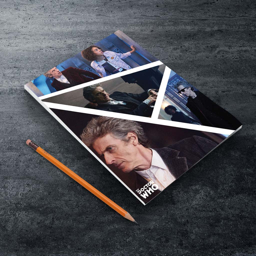 Twelfth Doctor Photographic A5 Notepad (Lifestyle)