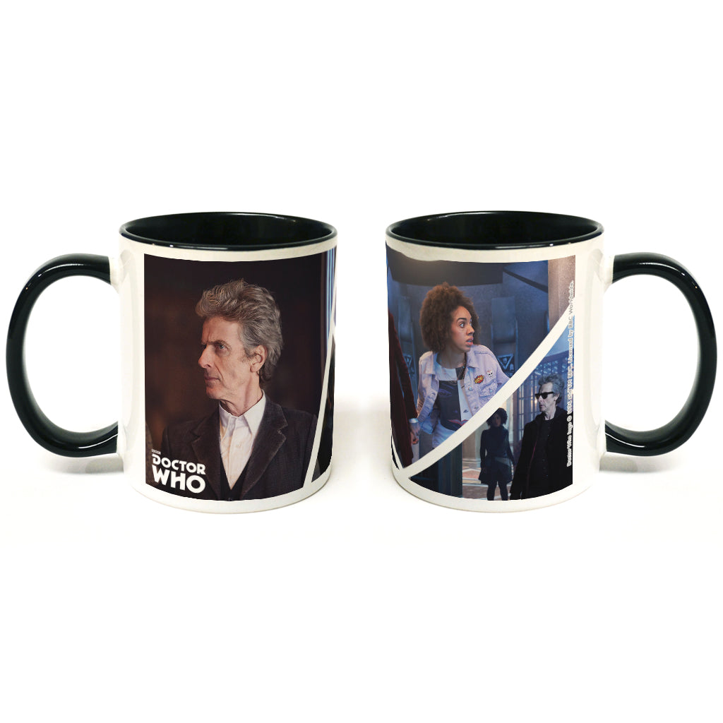 Twelfth Doctor Photographic Colour Insert Mug