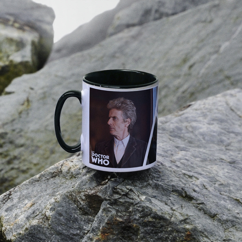 Twelfth Doctor Photographic Colour Insert Mug (Lifestyle)