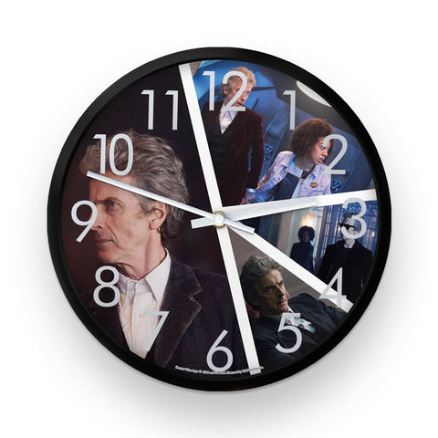 Twelfth Doctor Photographic Clock