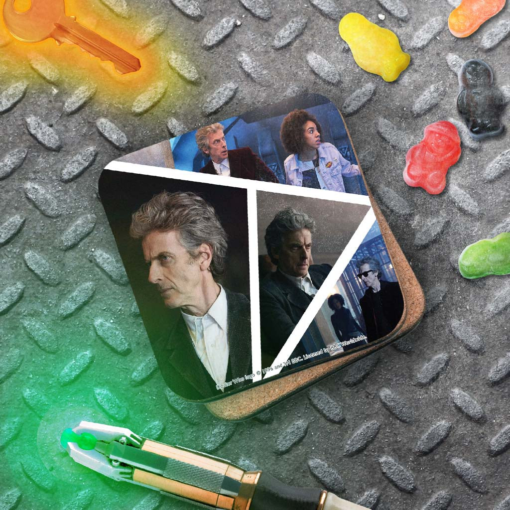 Twelfth Doctor Photographic Coaster (Lifestyle)