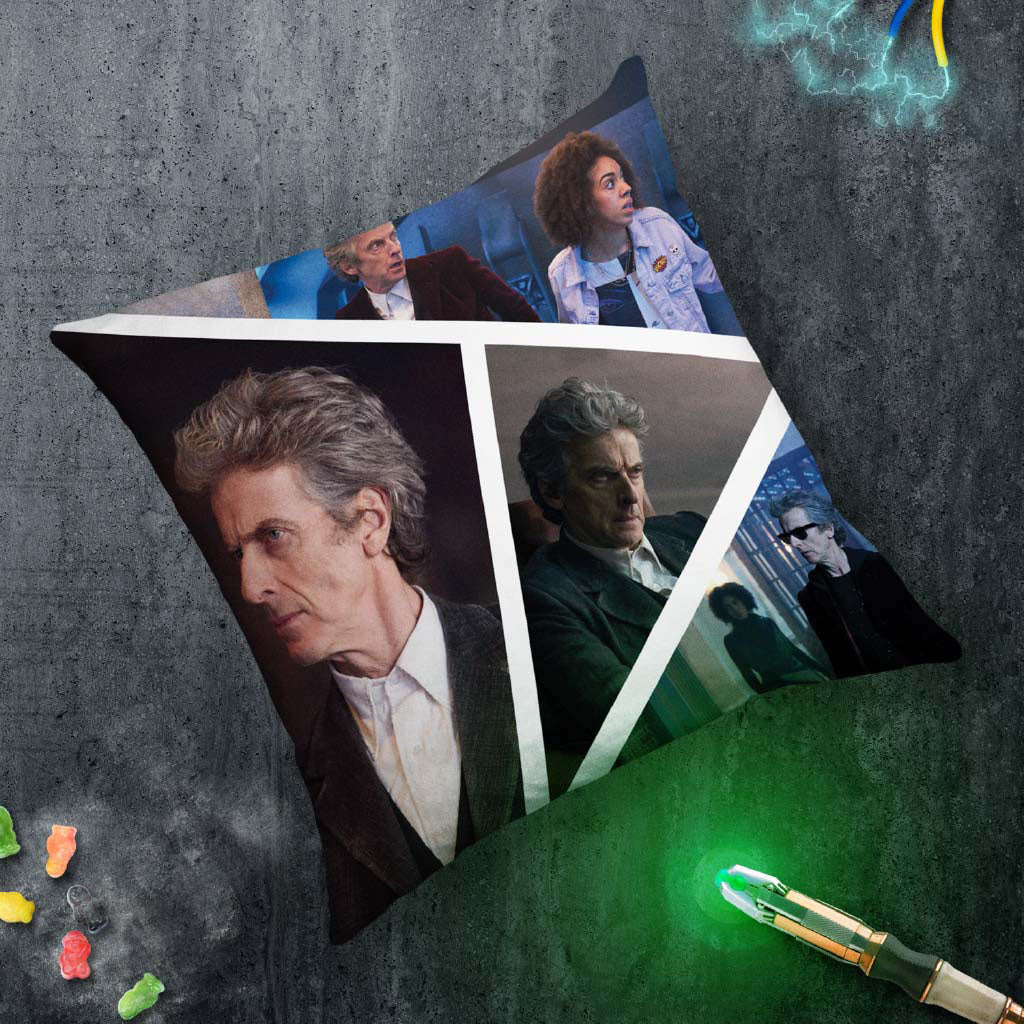 Twelfth Doctor Photographic Cushion (Lifestyle)