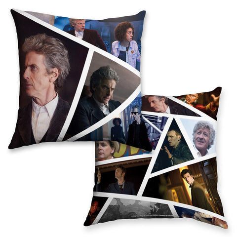 Twelfth Doctor Photographic Cushion