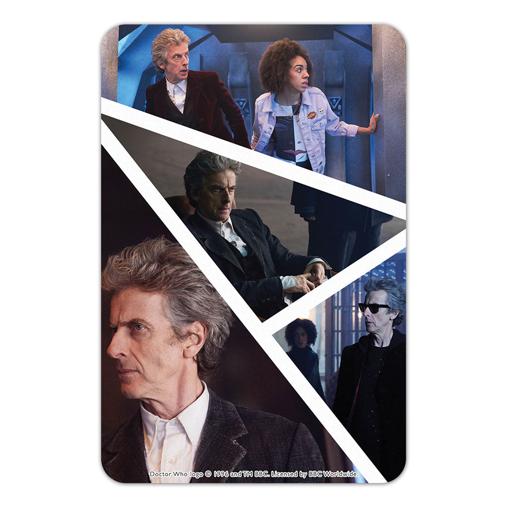 Twelfth Doctor Photographic Door Plaque