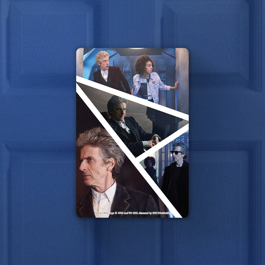 Twelfth Doctor Photographic Door Plaque (Lifestyle)