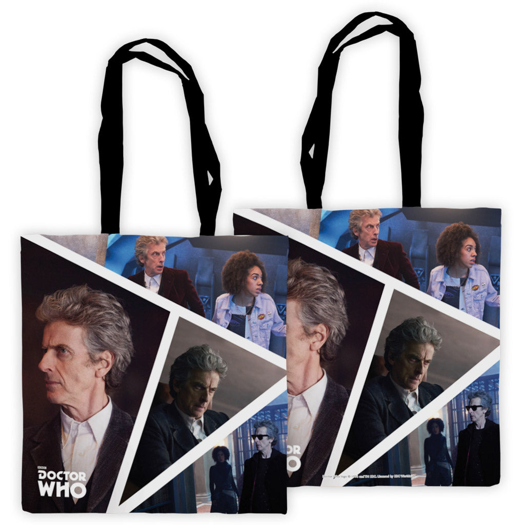 Twelfth Doctor Photographic Edge to Edge Tote