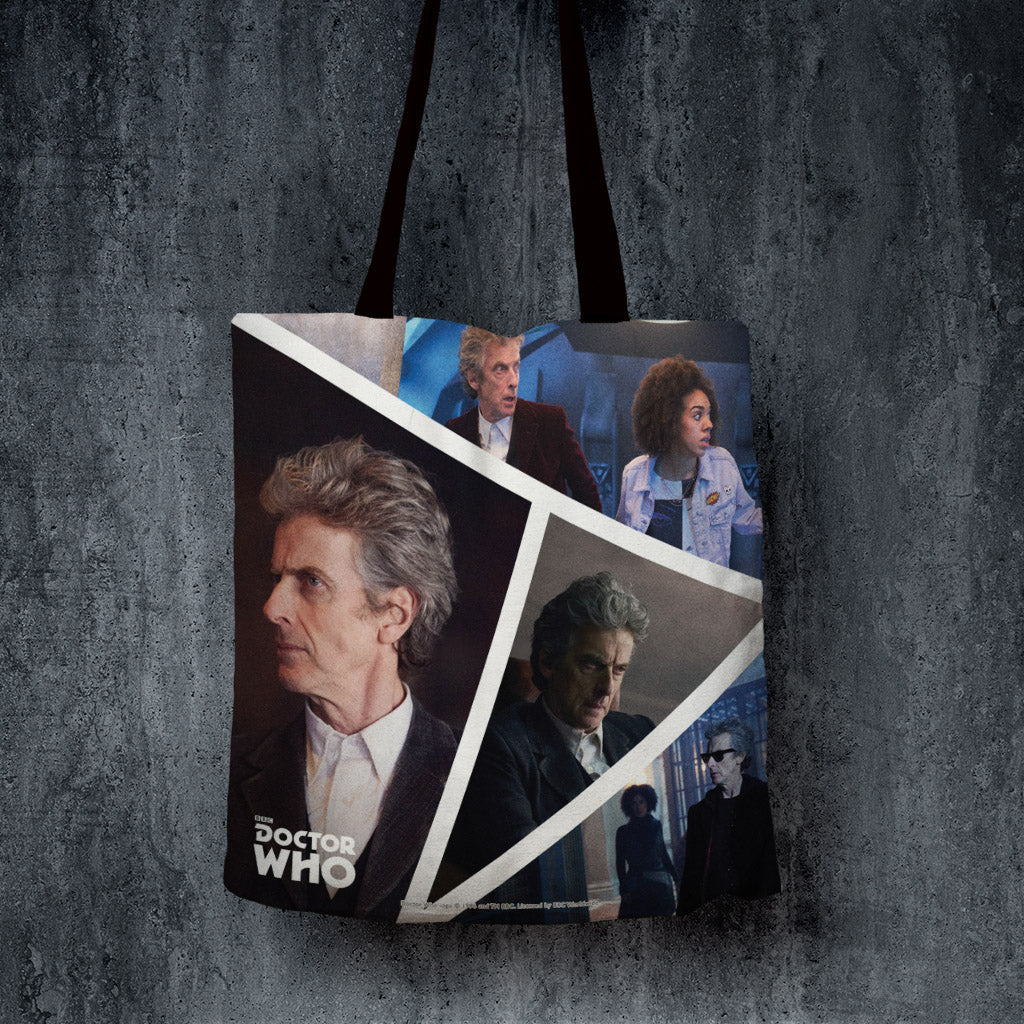 Twelfth Doctor Photographic Edge to Edge Tote (Lifestyle)