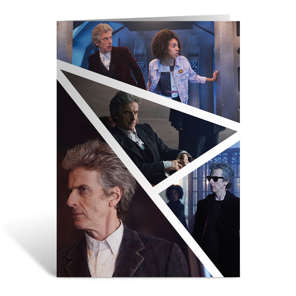 Twelfth Doctor Photographic Greeting Card
