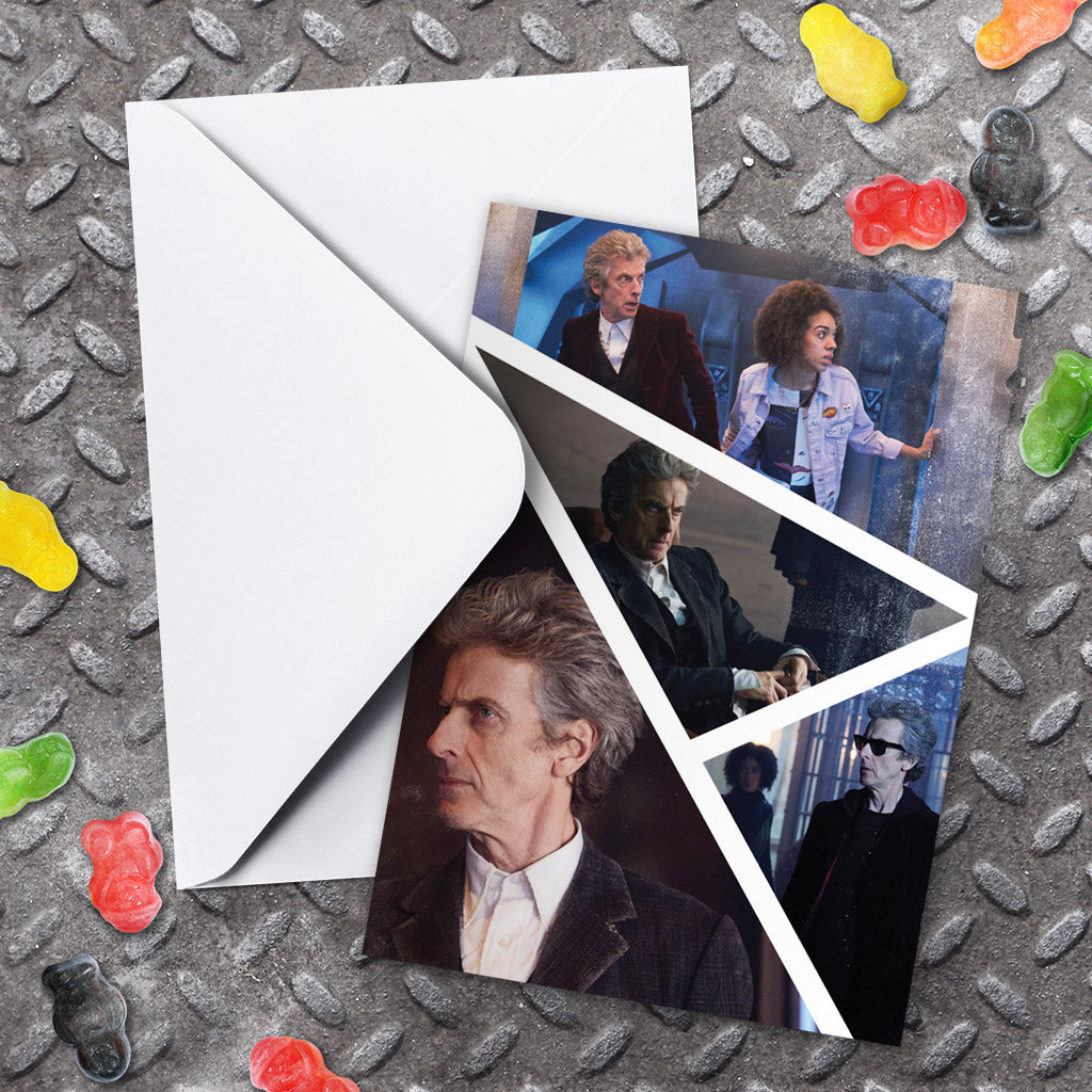 Twelfth Doctor Photographic Greeting Card (Lifestyle)