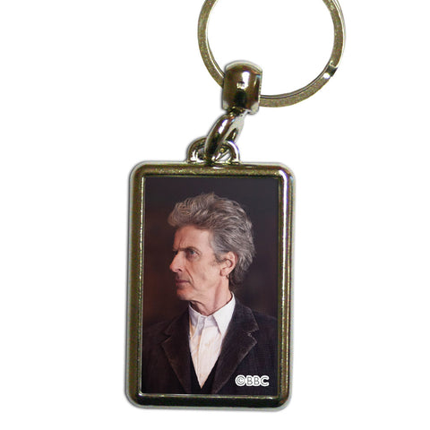 Twelfth Doctor Photographic Metal Keyring