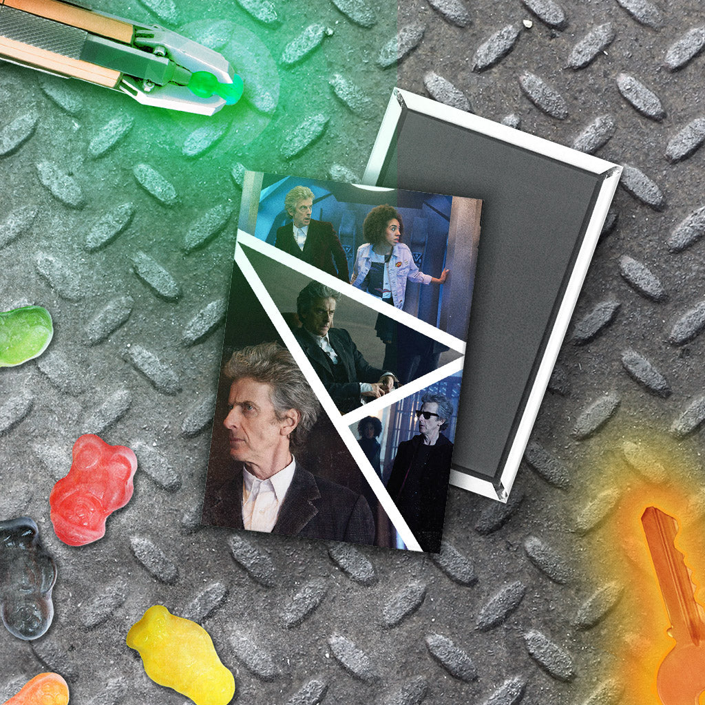 Twelfth Doctor Photographic Magnet (Lifestyle)