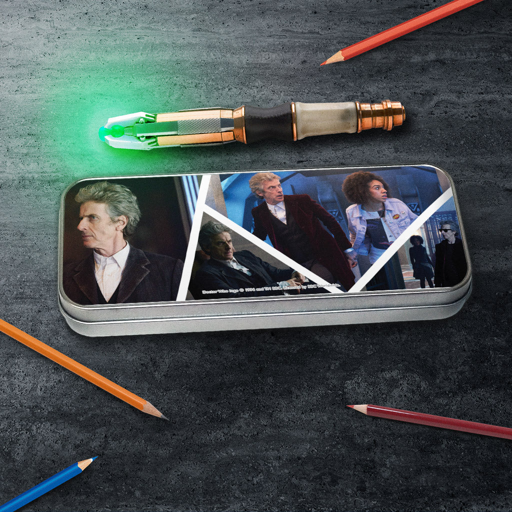Twelfth Doctor Photographic Pencil Tin (Lifestyle)