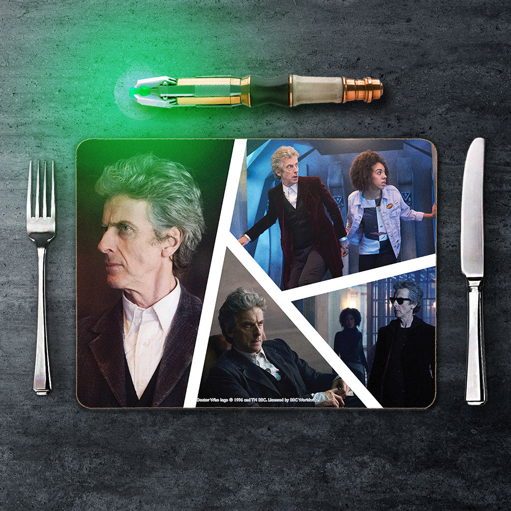 Twelfth Doctor Photographic Placemat (Lifestyle)