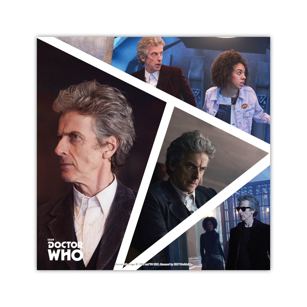 Twelfth Doctor Photographic Square Art Print