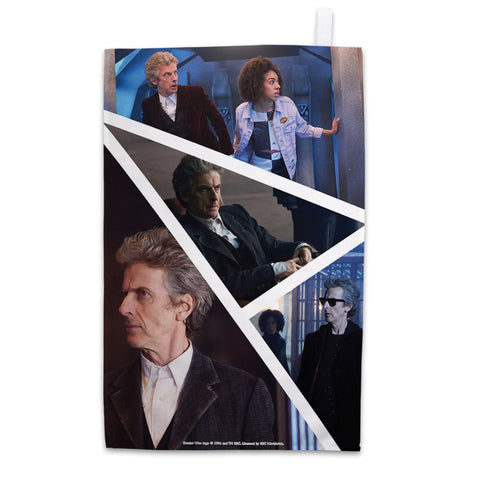 Twelfth Doctor Photographic Tea Towel