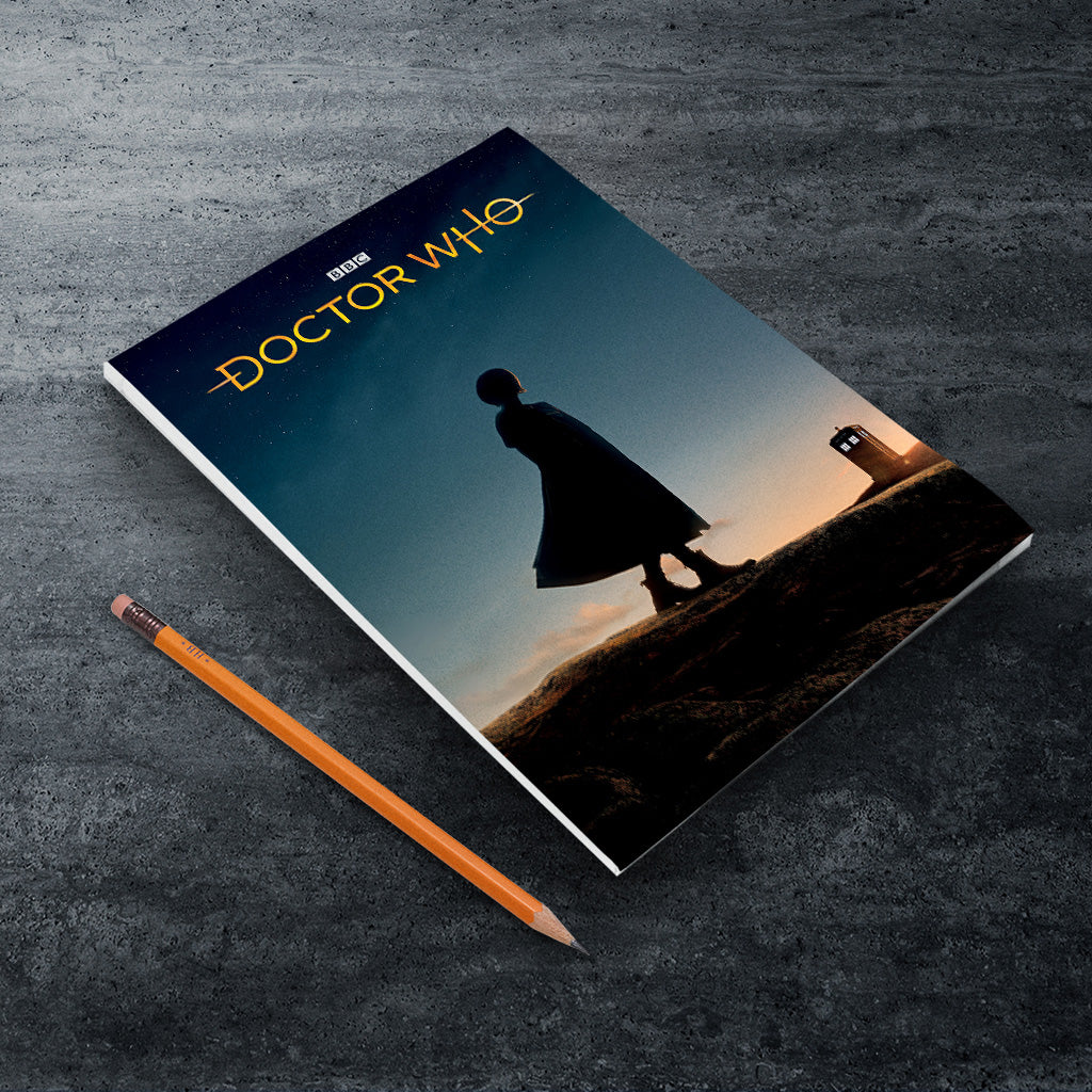 Thirteenth Doctor Photographic A5 Notepad (Lifestyle)