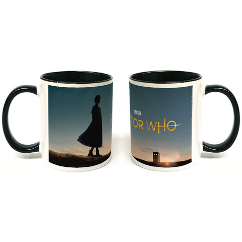 Thirteenth Doctor Photographic Colour Insert Mug
