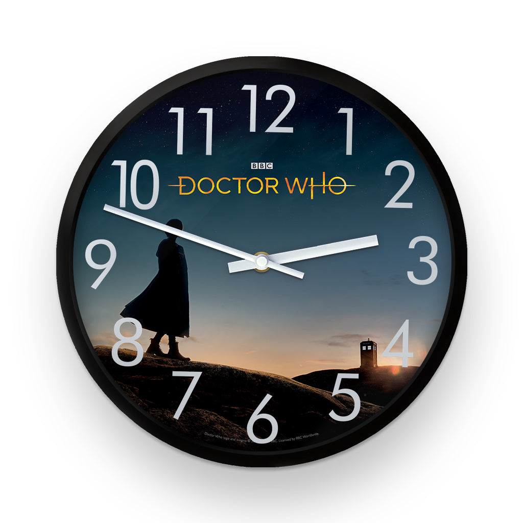 Thirteenth Doctor Photographic Clock