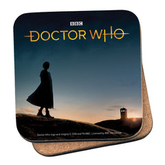 Thirteenth Doctor Photographic Coaster
