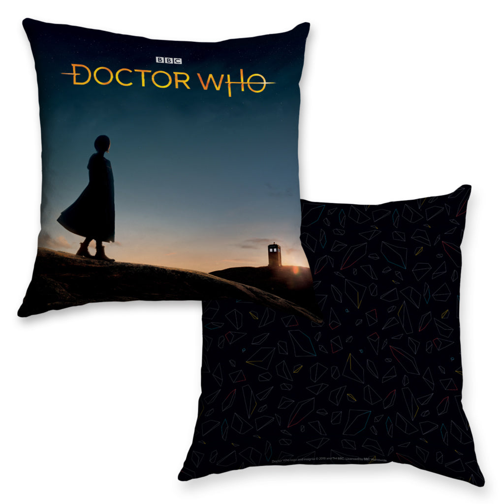 Thirteenth Doctor Photographic Cushion