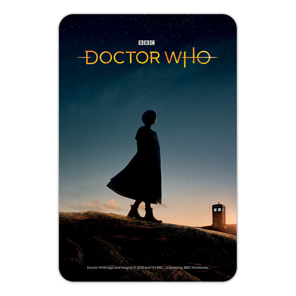 Thirteenth Doctor Photographic Door Plaque