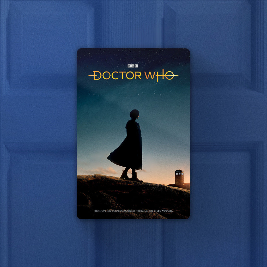 Thirteenth Doctor Photographic Door Plaque (Lifestyle)