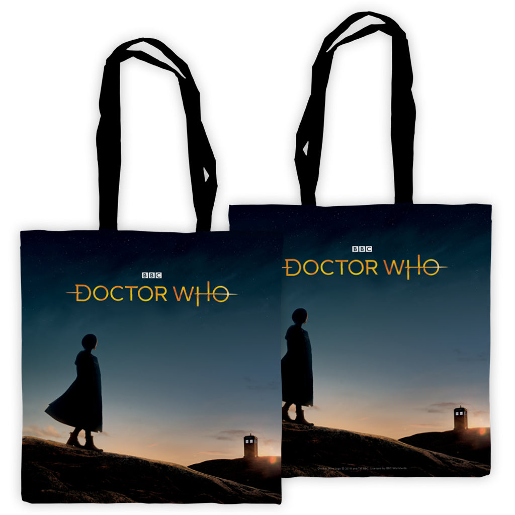 Thirteenth Doctor Photographic Edge to Edge Tote
