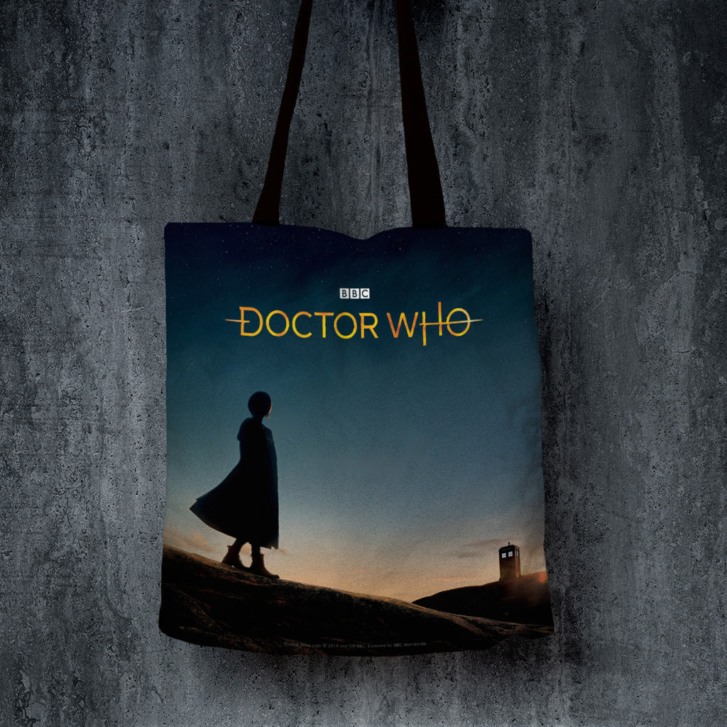 Thirteenth Doctor Photographic Edge to Edge Tote (Lifestyle)