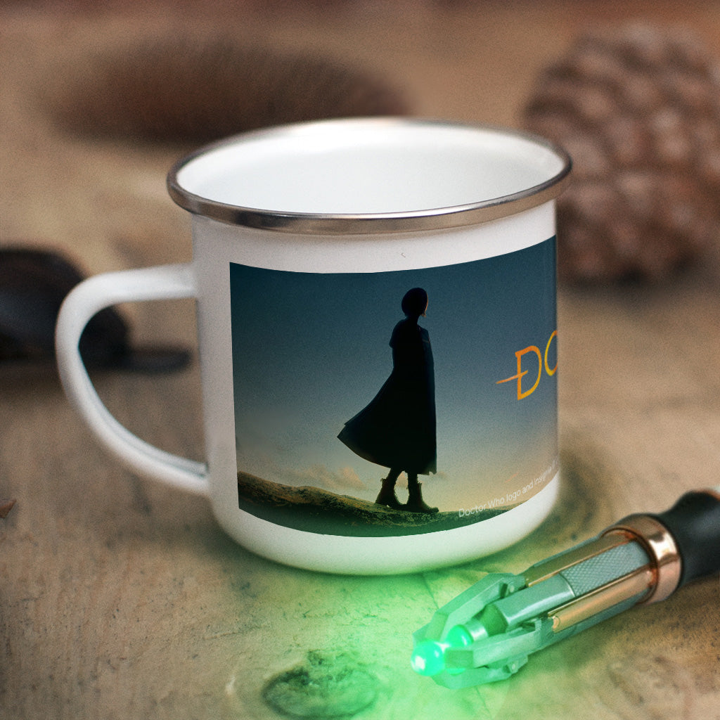 Thirteenth Doctor Photographic Enamel Mug (Lifestyle)