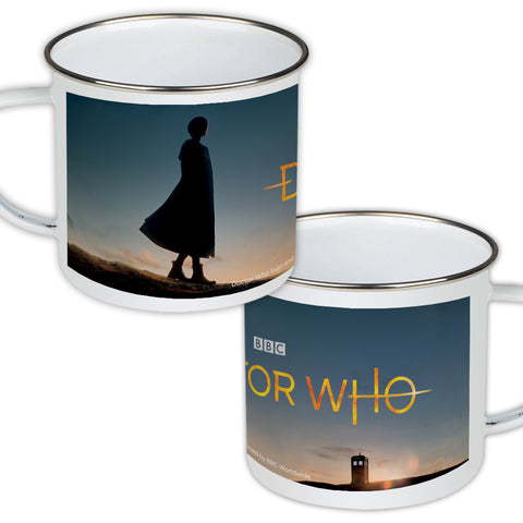 Thirteenth Doctor Photographic Enamel Mug
