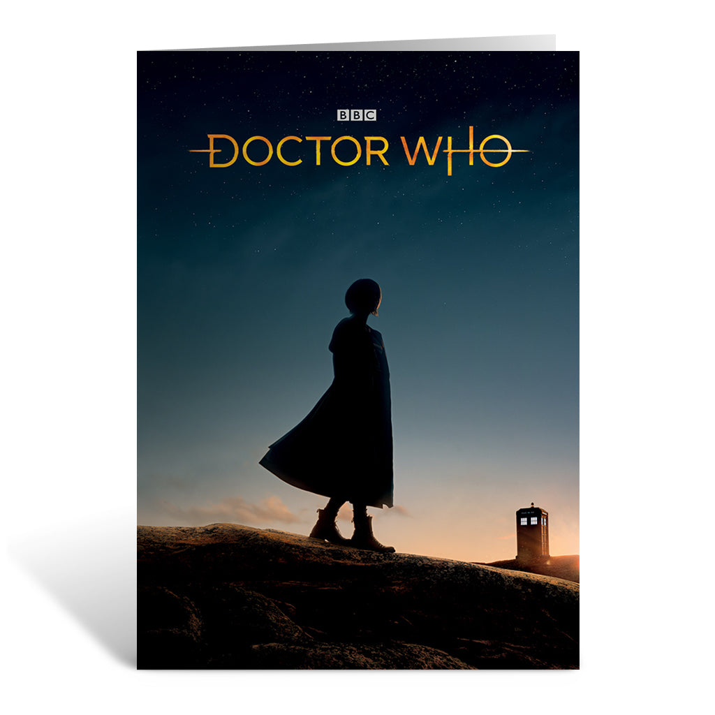 Thirteenth Doctor Photographic Greeting Card