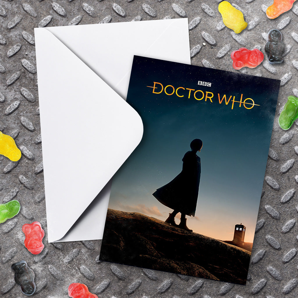 Thirteenth Doctor Photographic Greeting Card (Lifestyle)