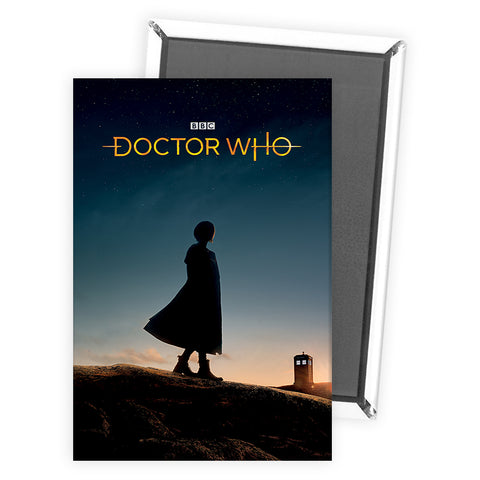 Thirteenth Doctor Photographic Magnet
