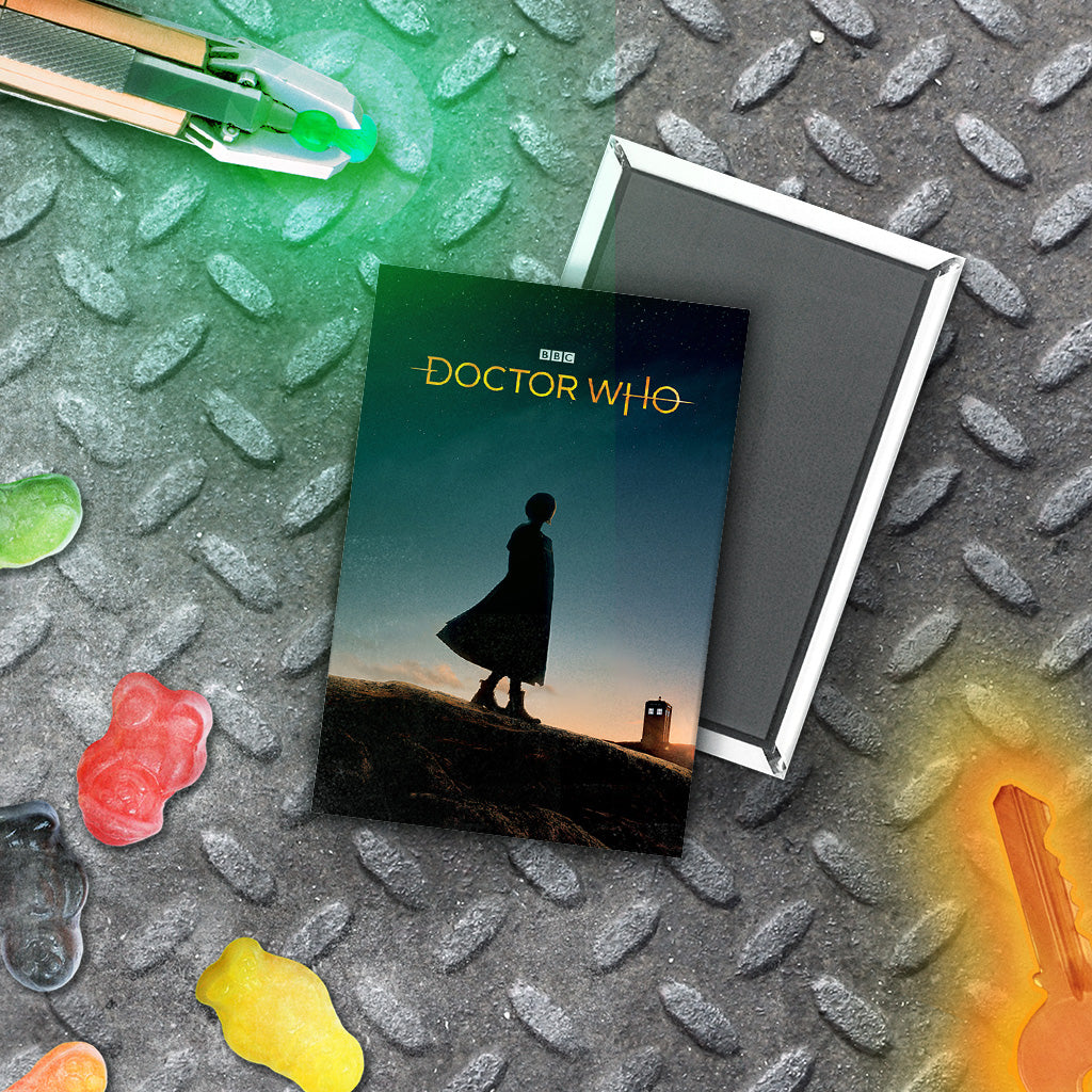 Thirteenth Doctor Photographic Magnet (Lifestyle)