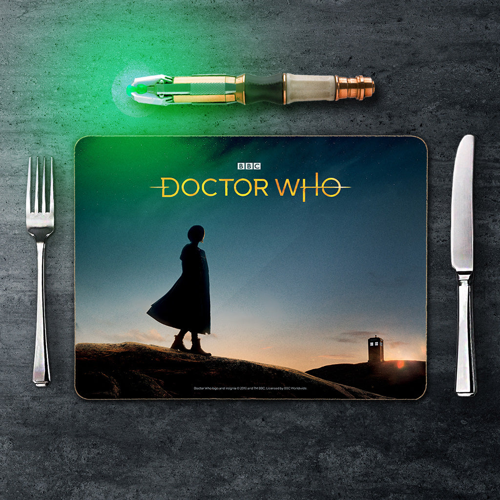 Thirteenth Doctor Photographic Placemat (Lifestyle)
