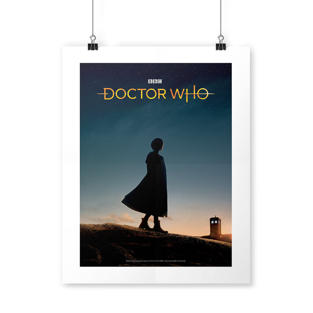 Thirteenth Doctor Photographic Art Print