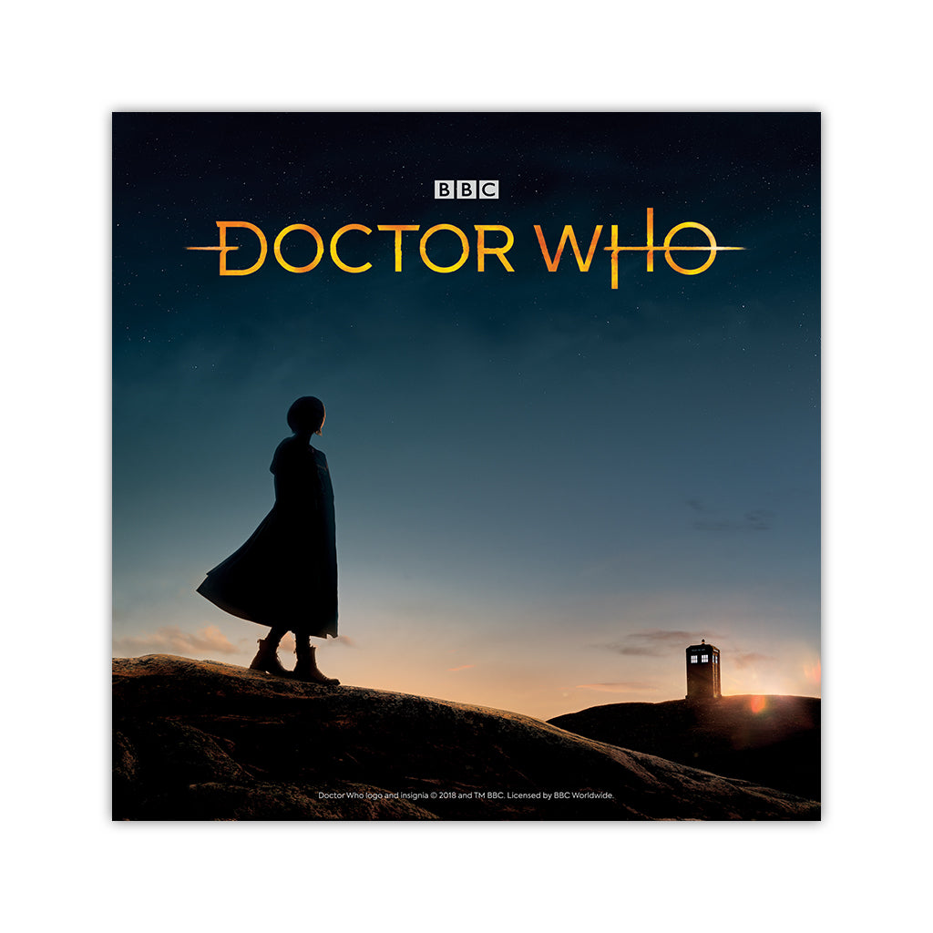 Thirteenth Doctor Photographic Square Art Print