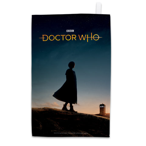 Thirteenth Doctor Photographic Tea Towel