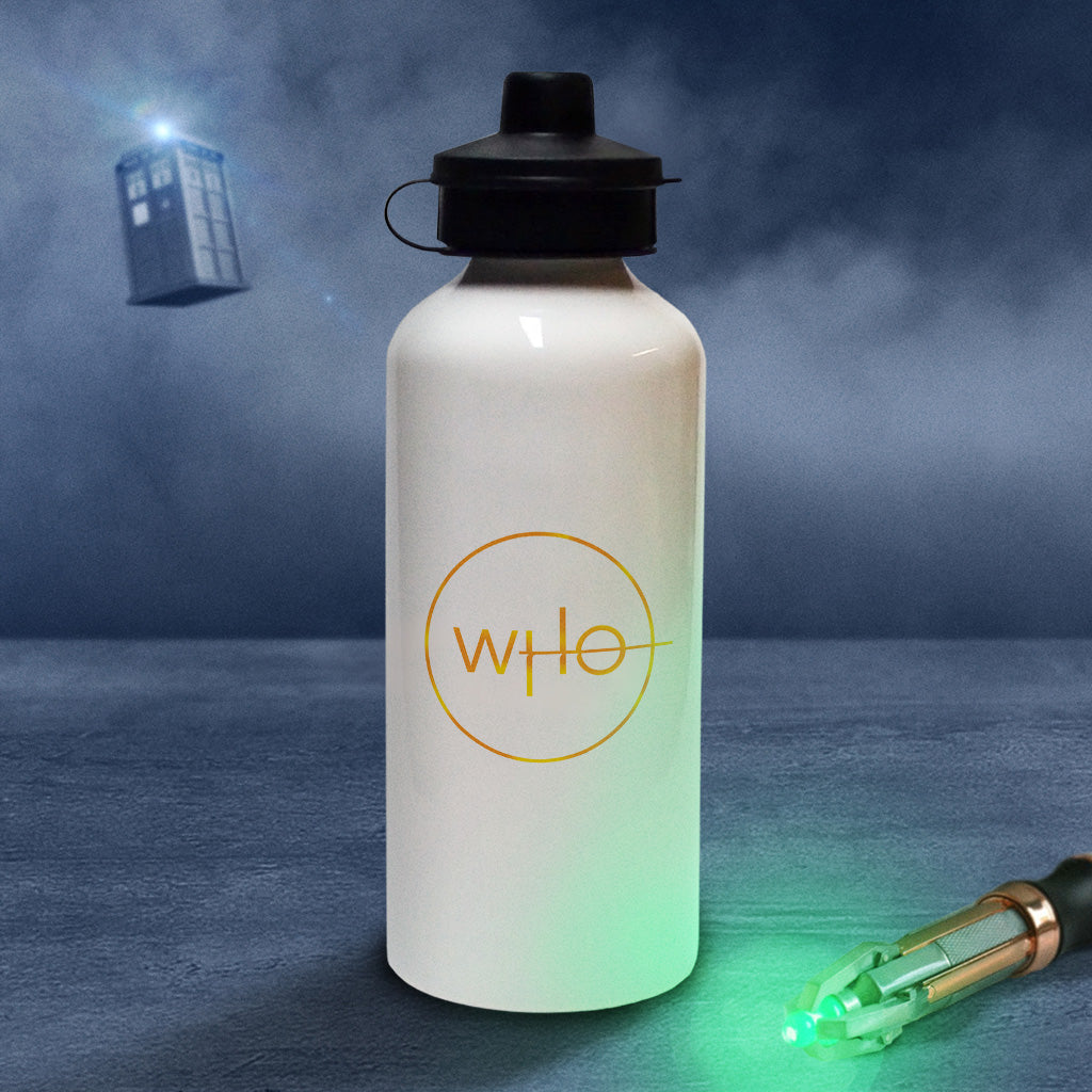 Thirteenth Doctor Photographic Water Bottle (Lifestyle)