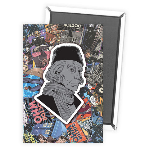 First Doctor Comic Magnet