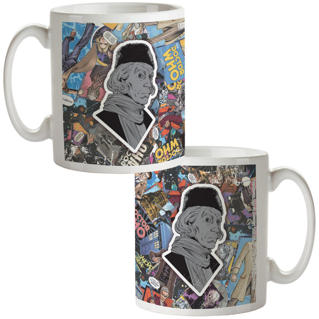 First Doctor Comic Mug