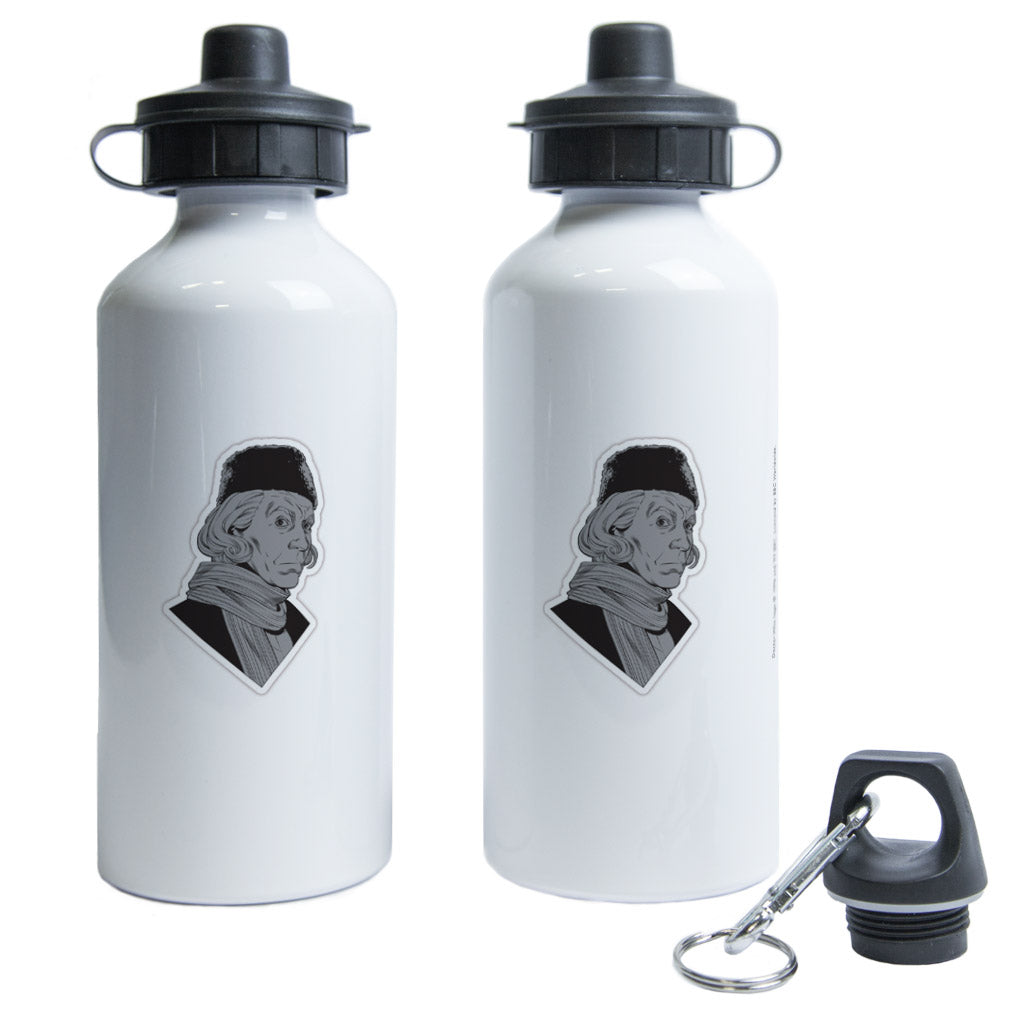 First Doctor Comic Water Bottle