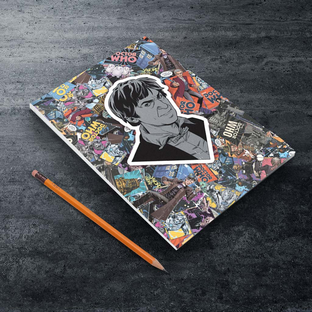 Second Doctor Comic A5 Notepad (Lifestyle)