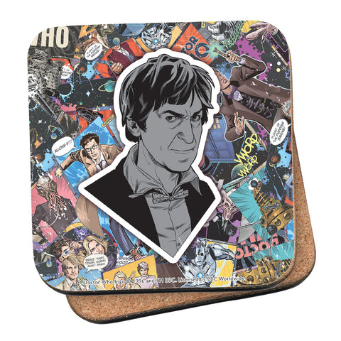 Second Doctor Comic Coaster