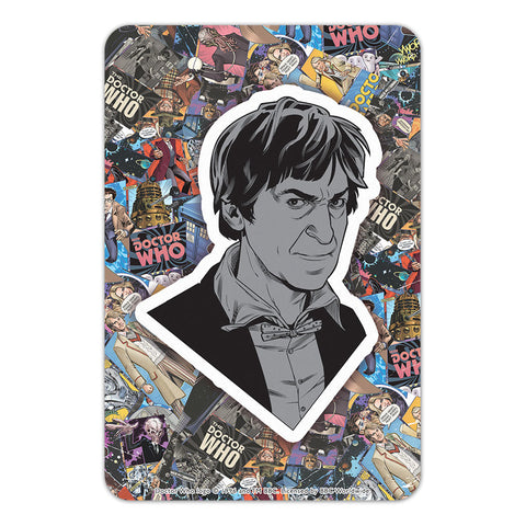 Second Doctor Comic Door Plaque