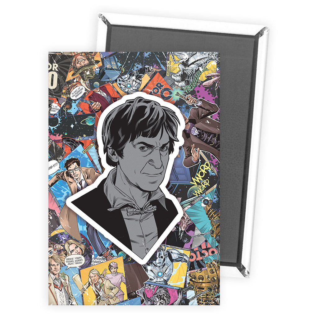 Second Doctor Comic Magnet