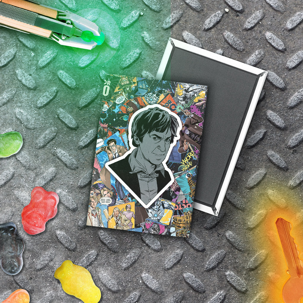 Second Doctor Comic Magnet (Lifestyle)
